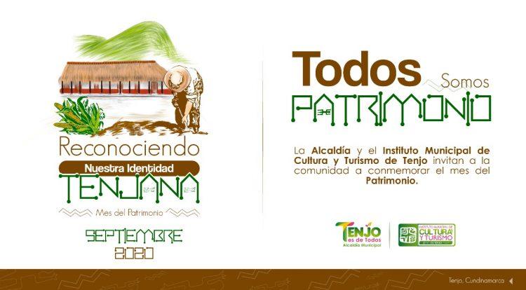 Mes del Patrimonio cultural en Tenjo 'Reconociendo nuestra identidad'