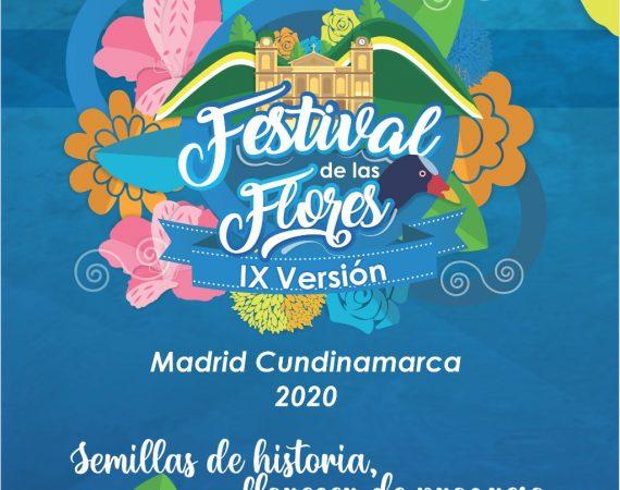 IX Festival de la Flores en Madrid, Cundinamarca