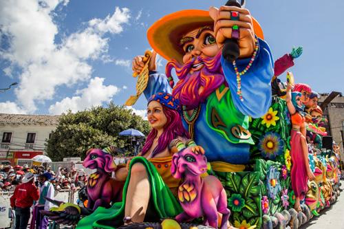 Carnaval de Negros y Blancos en Pasto