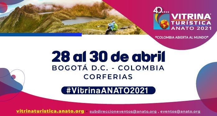 La #VitrinaANATO2021 se realizará a finales de abril.