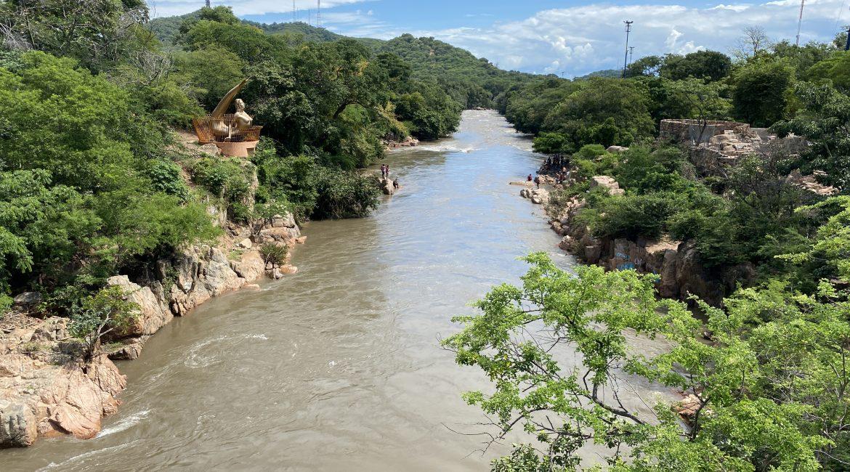 Río Guatapurí en Valledupar