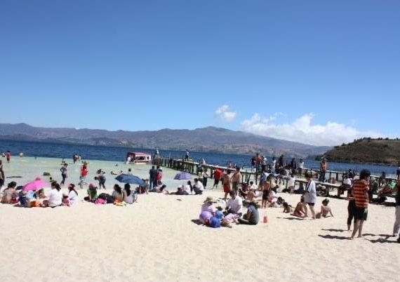 Playa Blanca en Boyacá