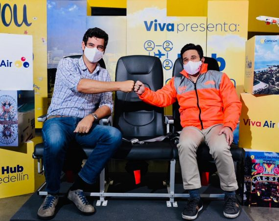 Félix Antelo Presidente & CEO de Viva Air - Matías Laks, gerente general de Rappi para Colombia.