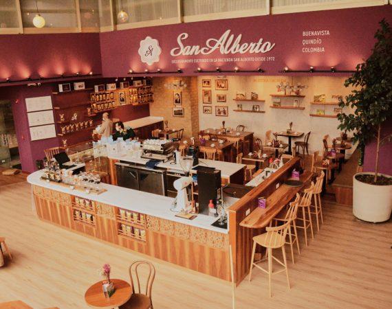 Café San Alberto en Bogotá