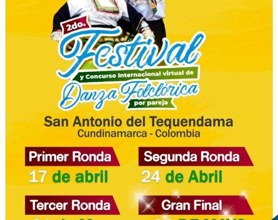 Festival de danza en San Antonio del Tequendama