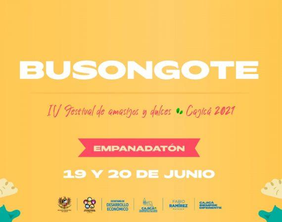 Festval Busongote en Cajicá
