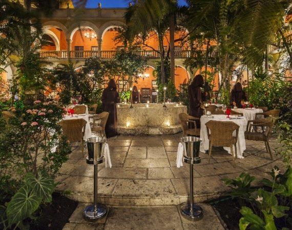 restaurante 1621 del Hotel Sofitel Legend Santa Clara