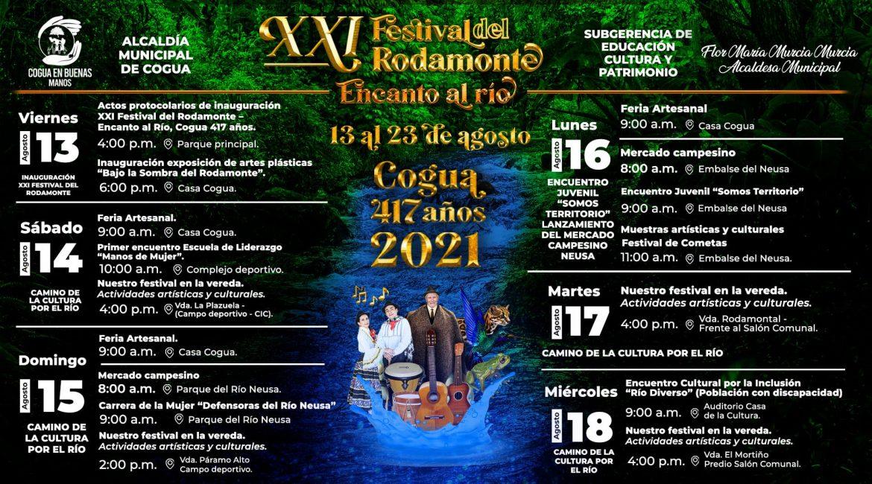 Festival del Rodamonte en Cogua