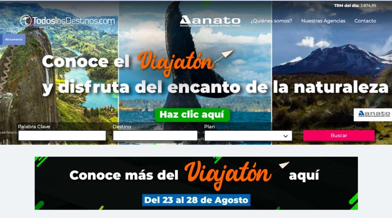 Viajatón en Todolosdestinos.com