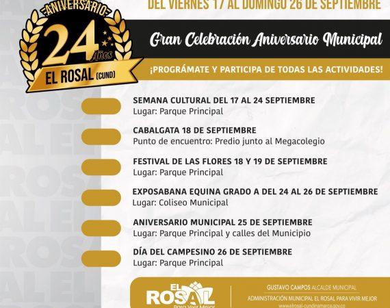 Aniversario de El Rosal