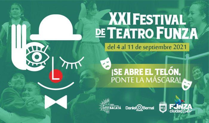 XXI Festival de Teatro «Se abre el telón, ponte la máscara» en Funza